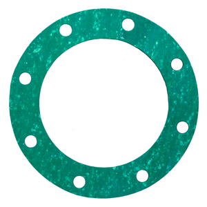 4 in. TTMA Fiber Gasket, 1/16 in. Thick, Green