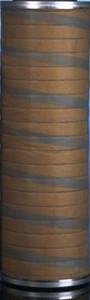 Parker Velcon FG Series 6 in. x 18 in. Fiberglass Filter Cartridges - 25 Micron