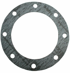 4 in. TTMA Fiber Gasket. Garlock 3200, Grey, 1/8 in. Thick