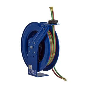 Coxreels P-W & SHW Series Spring Driven Welding Hose Reel - Oxygen-Acetylene Reel - Reel & Hose - 1/4 in. x 60 ft.
