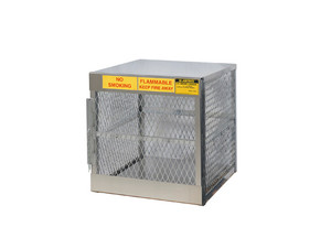 Aluminum LPG Cylinder Lockers Vertical Storage - Four 20 or 33 lb