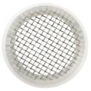 Rubber Fab 4 in. Platinum Silicon Screen Camlock Gaskets - 10 Mesh