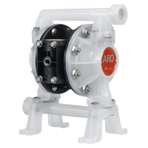 ARO 3/4 in. Polypropylene Non-Metallic Air Diaphragm Pump w/ PTFE Diaphragm