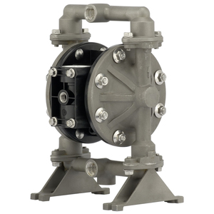 ARO Compact Series 1/2 in. Aluminum Air Diaphragm Pump w/ Nitrile Diaphragm