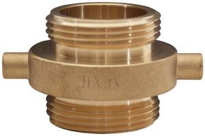 Dixon 1 1/2 in. NPSH x 1 1/2 in. NPSH Brass Pin Lug Double Male Adapter