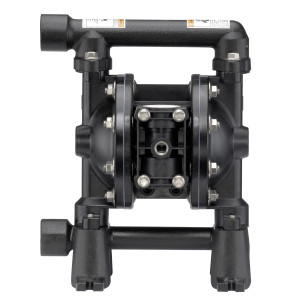 ARO Compact Series 3/4 in. Aluminum Air Diaphragm Pump w/ PTFE Diaphragm