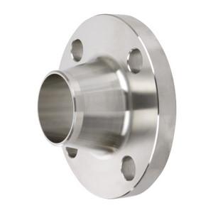 Smith Cooper 150# Schedule 40 304 Stainless Steel 1 1/4 in. Weld Neck Flange w/ 4 Holes