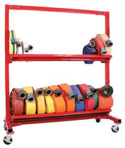 Ready Rack 2-Tier Mobile Hose Cart Up to 1300 ft. of 2 1/2 in. hose