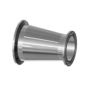 BioPharm 1 1/2 in. x 1/2 in. Triclamp Concentric Reducers w/ SF1-Ra20 Finish