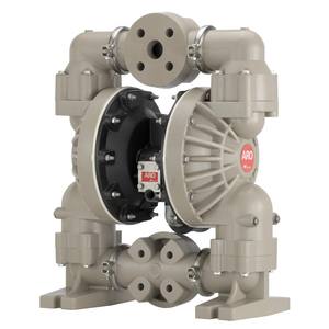 ARO Pro Series 1 1/2 in. Polypropylene Non-Metallic Air Diaphragm Pump w/ Santoprene Diaphragm