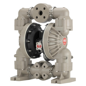 ARO Pro Series 1 1/2 in. Polypropylene Non-Metallic Air Diaphragm Pump w/ Nitrile Diaphragm