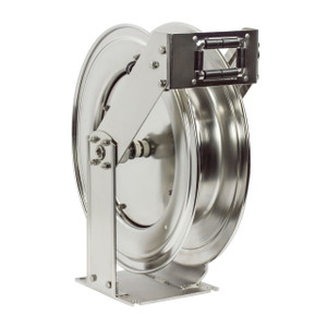 Coxreels T Series Stainless Steel Hose Reel - Reel Only - 3/8 in. x 50 ft.