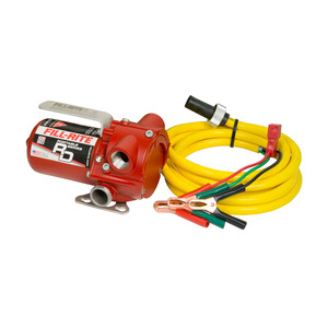 Fill-Rite RD Series 12V DC Portable Fuel Pump, 12 GPM, UL Listed