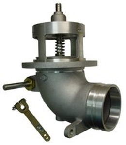 """Frankling Fueling Systems 880-430 & 880-431 Emergency Valve Parts - Flanged 4"""" Body - 1"""