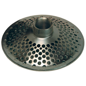 Dixon 3 in. NPSM Zinc Plated Steel Round Hole Top Skimmer