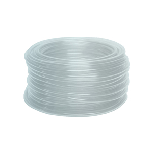 Dixon 3/8 in. ID x 1/2 in. OD Domestic Clear PVC Tubing, 45 PSI - 100 ft.