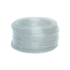 Dixon 1/2 in. ID x 5/8 in. OD Domestic Clear PVC Tubing, 30 PSI - 100 ft.