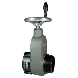 Dixon 2 1/2in. NH(NST) x 2 1/2 in. NH(NST) Aluminum Hydrant Gate Valve w/ Speed Handle -