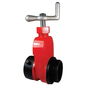 Dixon 2 1/2 in. NH(NST) x 2 1/2 in. NH(NST) Global Aluminum Hydrant Gate Valve w/ Speed Handle