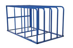 Vestil Standard Sheet Rack - Standard sheet rack - 84 in. L x 50 in. W x 44 in. H