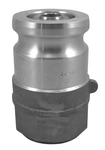 OPW 1 1/2 in. Stainless Steel Kamvalok Adapter w/ PTFE-Viton Seals