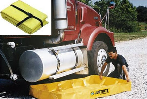 Justrite QuickBerm Lite - 398 Gallons - 8 ft x 10 ft x 8 in