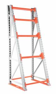 Vestil Manufacturing Single Sided Rack - 51 in. W x 96 in. H