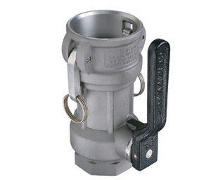 OPW 3 in. Stainless Steel Straight Coupler w/ Viton Seals