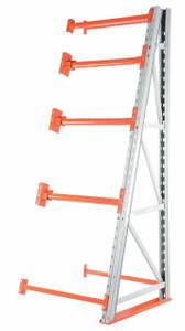 Vestil Manufacturing Reel Rack Add-On Section - 51 in. W x 120 in. H