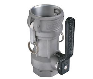 OPW 1 1/2 in. Stainless Steel Straight Coupler w/ Chemraz Seals