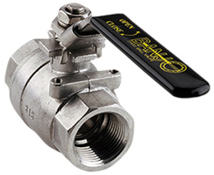 Banjo 2 in. Full Port Stainless Steel Ball Valve Replacement Locking Handle