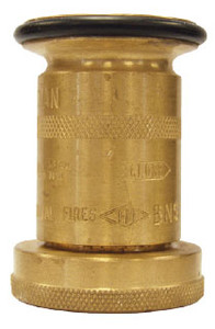 Dixon 1 1/2 in. NH (NST) Brass Industrial Washdown Nozzles