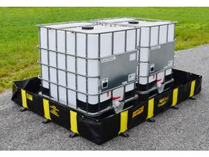 Justrite Rigid-Lock QuickBerm - 475 Gallons - 8 ft x 8 ft x 12 in