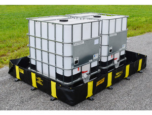 Justrite 28522 Rigid-Lock QuickBerm - 1075 Gallons - 12 ft x 12 ft x 12 in