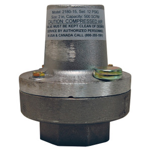 Dixon Bayco 2 in. Female NPT Trailer/Tank Mounted Air Relief Valves - 15 PSI