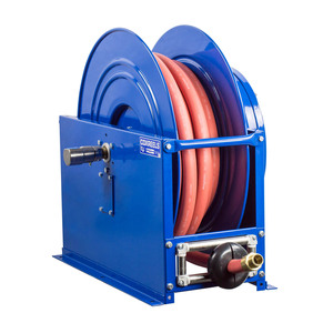 Coxreels SMP-550 High Capacity Medium Pressure Oil Hose Reel - Reel & Hose - 3/4 in. x 50 ft.
