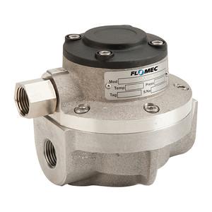 GPI Flomec OM Series 015 1/2 in. Aluminum Oval Gear Pulse Meter w/ Viton Seals