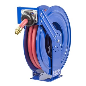 Coxreels TSHF-N-535 Fuel Series Spring Driven Hose Reel - Reel & Hose - 3/4 in. x 35 ft.