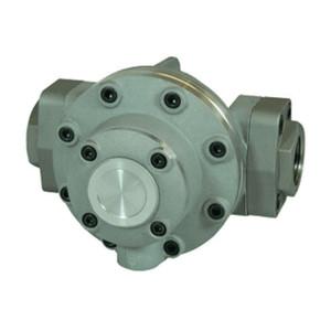 GPI Flomec OM Series 040 1 1/2 in. Aluminum Oval Gear Pulse Meter w/ Viton Seals