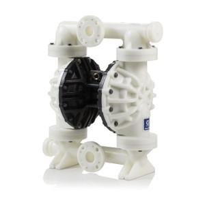 Graco Husky 2200 Poly Air 2 in. Diaphragm Pump w/ Polypropylene Seat, PTFE Balls & 2-Piece PTFE Dia. - 200 GPM