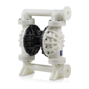 Graco Husky 2200 Poly Air 2 in. Diaphragm Pump w, Polypropylene Seat, PTFE Balls & 2-Piece Dia. - 200 GPM