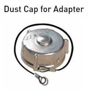 Emco Wheaton 1 in. Aluminum Dust Cap for Adapter