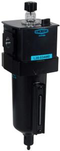 Dixon Wilkerson 3/8 in. L28 EconOmist Standard lubricator with Metal Bowl