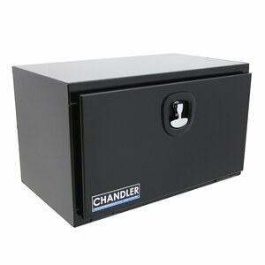 Chandler Equipment Powder Coated Carbon Steel Underbody Tool Box w/ Single Latch Door - 30x18x18
