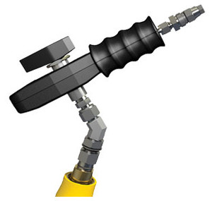 OPW CNG Type 2 Fueling System Nozzles - 4/4 Connection & 3/4 in. Extender - 1/4 in. - 1/4 in. - Up to 5,000 psi