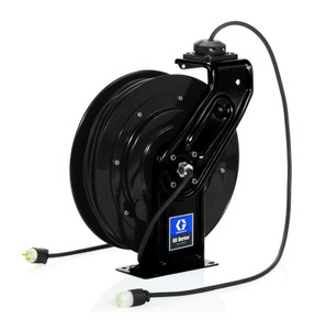 Graco SD Series 12 AWG Single Industrial Receptacle Cord Reel - 50 ft.
