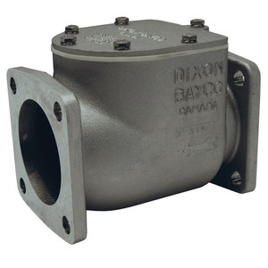 """Dixon Bayco 3030 Series 3"""" Swing Check Valve Parts - Silicone Flapper Assembly - 2,3A,4,5,6,7,8A,10,11"""