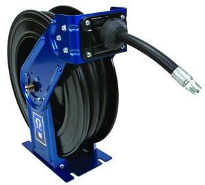 Graco XD 30 3/4 in. DEF Heavy Duty Spring Driven Hose Reels w/ 50 ft. Hose (Metallic Blue)