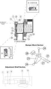 New Style Adjustment Shaft - New Style Shaft - 1B - 1