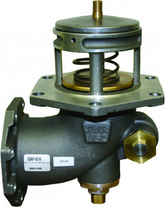 Morrison Bros. 603AA Series 4 in. Air Actuated Flanged Emergency Valve w/ Nitrile Rubber Seal